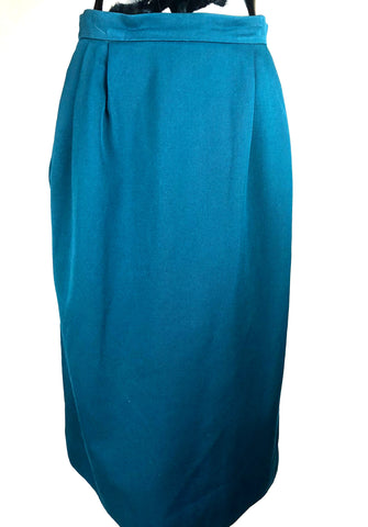 Vintage Teal Waters Skirt