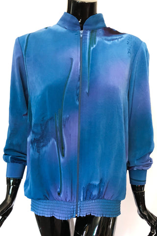 Blue Abyss Jacket Top