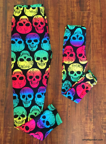 Skull Head Leggings