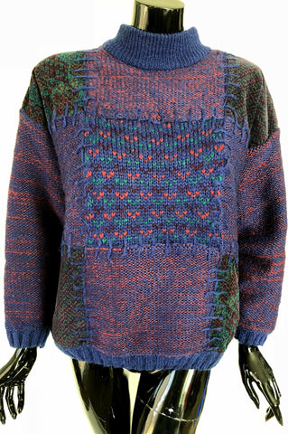 Corduroy Patch Sweater