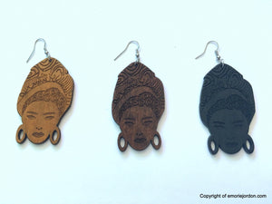 Headwrap Girl Earrings