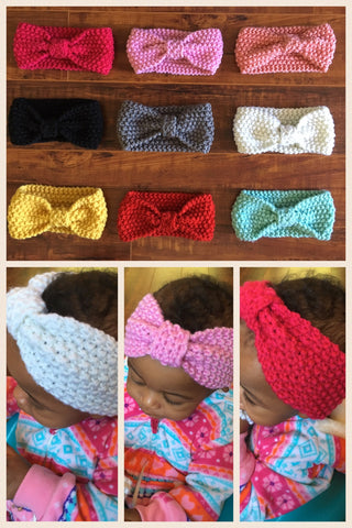 Baby Crochet Headbands