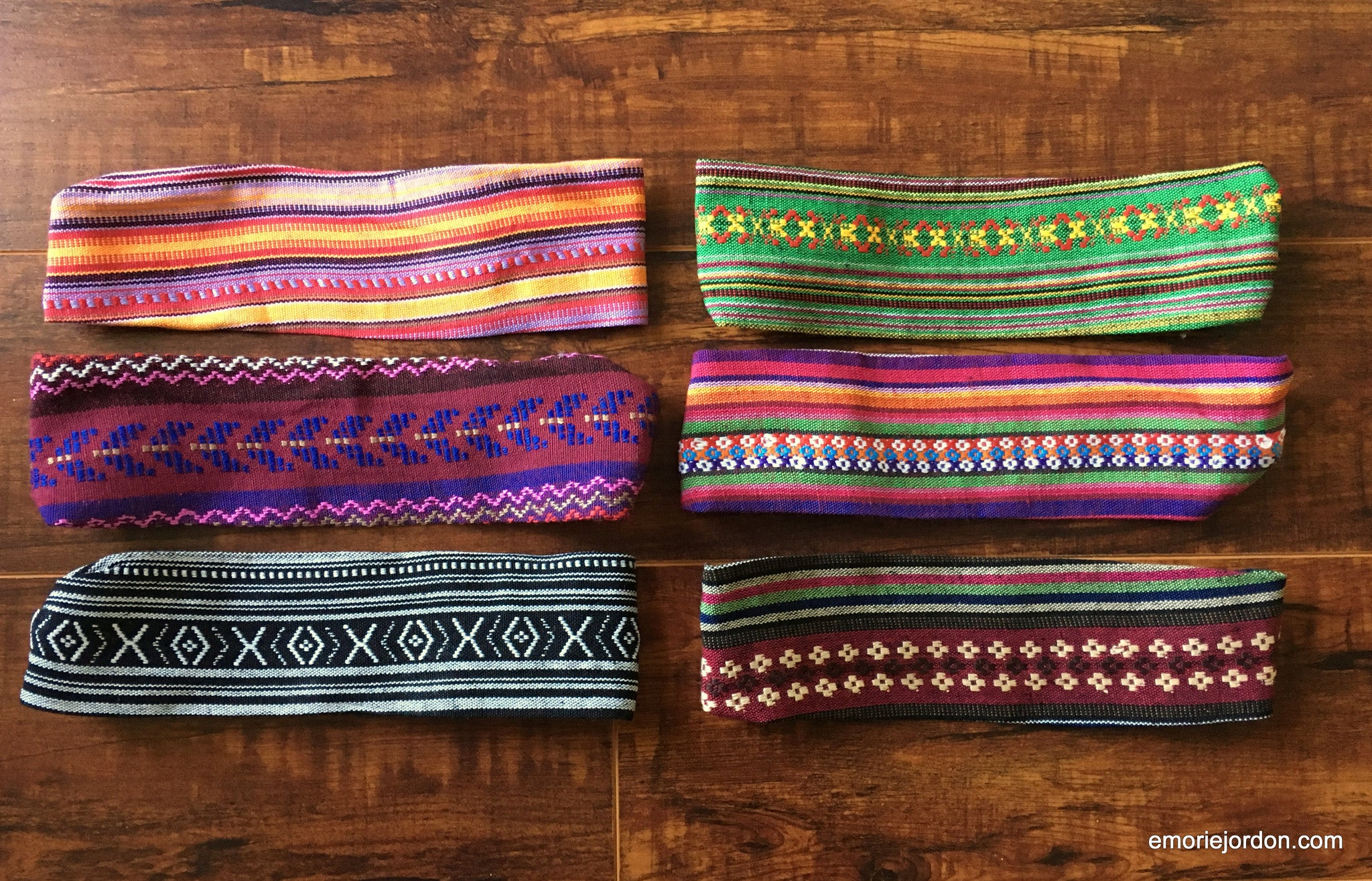 Soft Woven Bohemian Headbands
