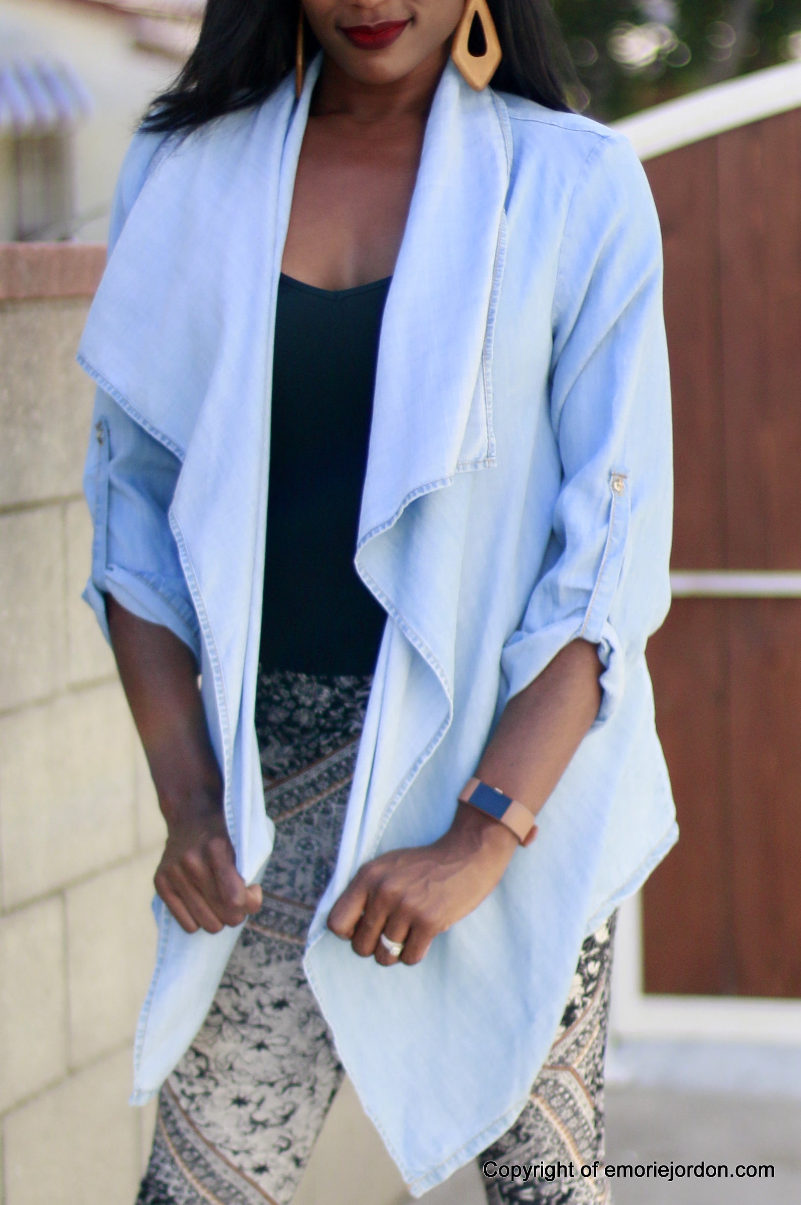Denim Cardigan