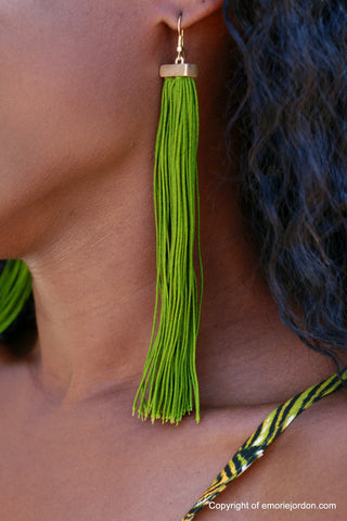 Tassel Vine Earrings