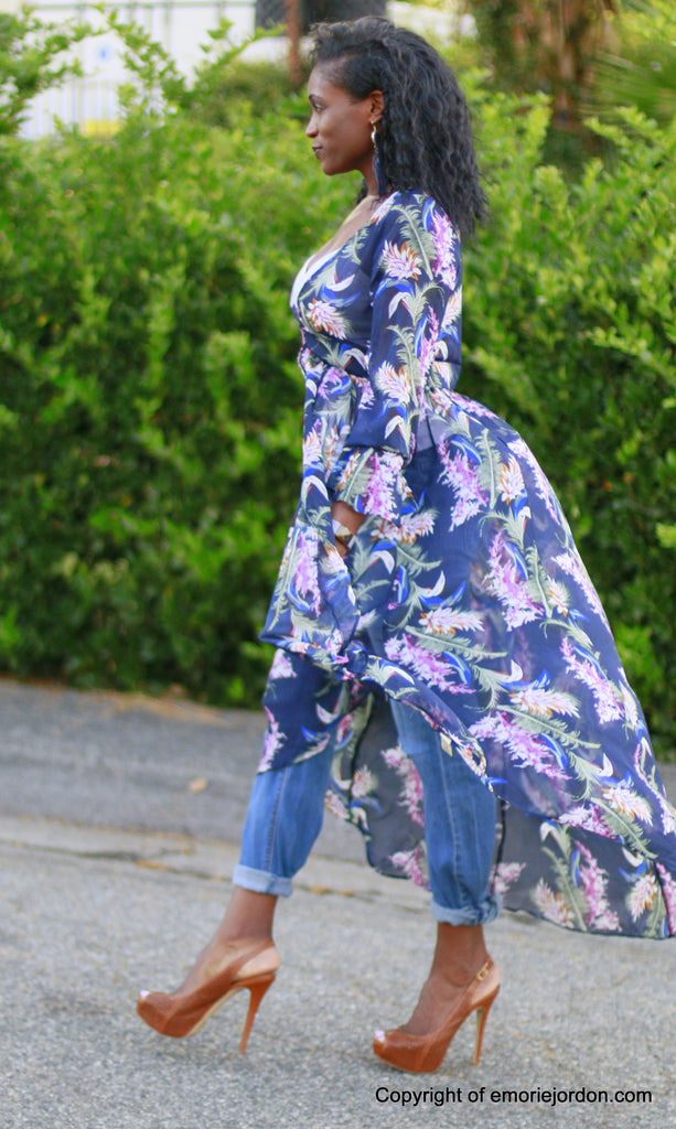 Tracee Ruffled Duster