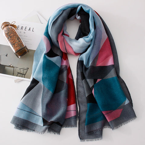 Geo Luxe Scarf