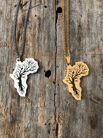 Rooted Africa Necklace