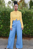 Barbara belted trousers