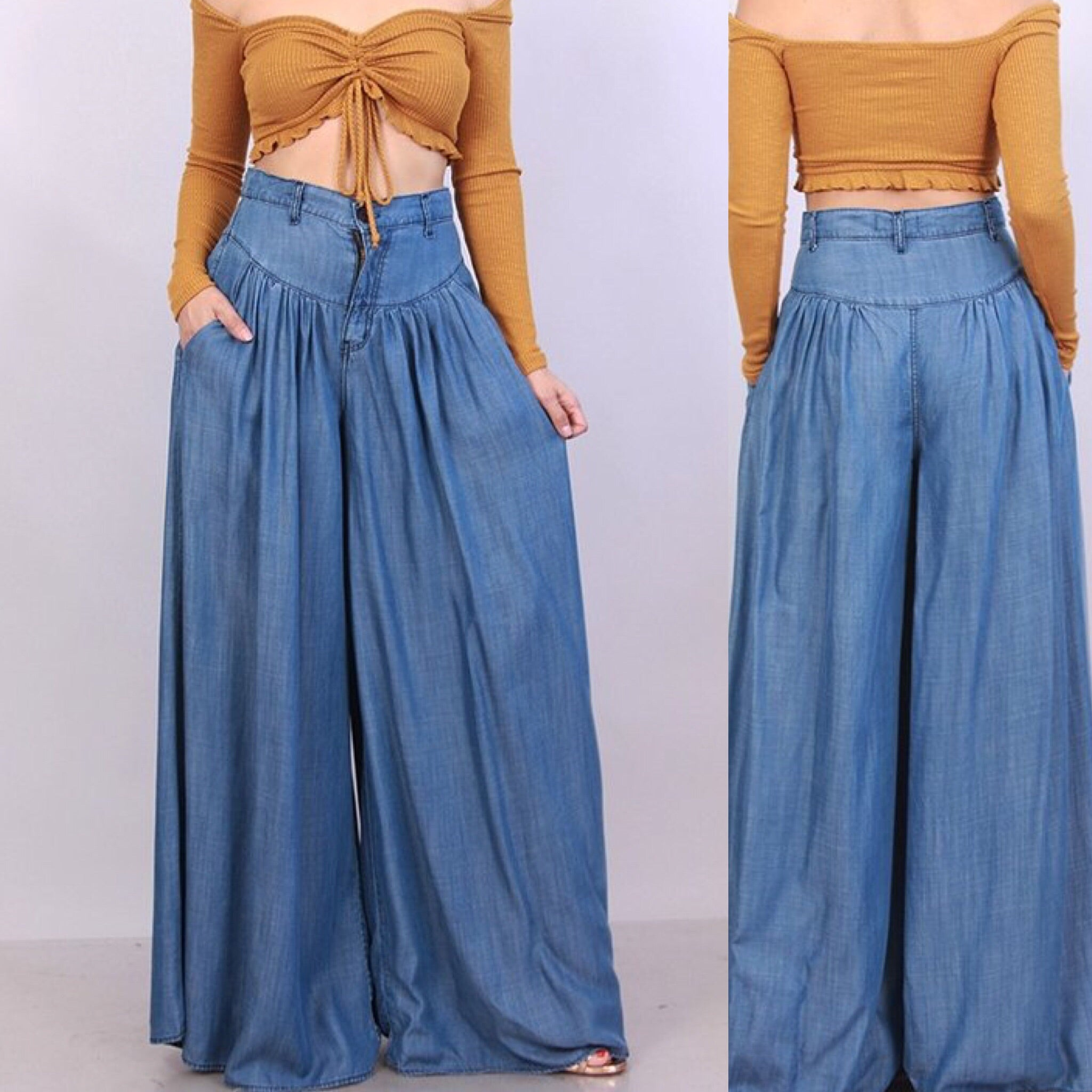 Wanda Wide Legged Pants