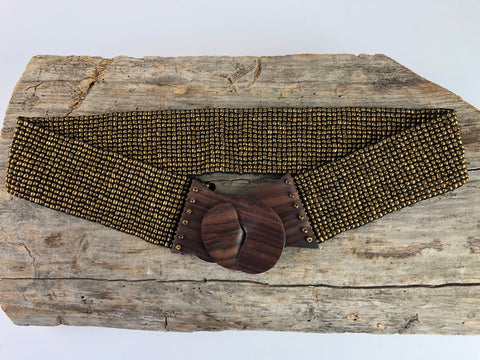 Egyptian Gold Beaded Belt