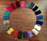 Crochet Bow Headbands/Earwarmers