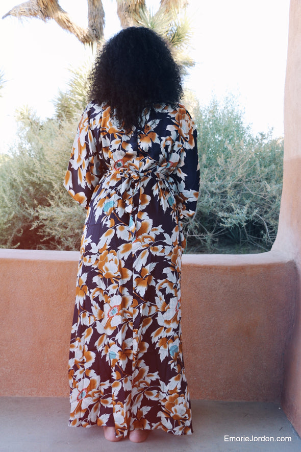Cattleya Caftan Maxi Dress