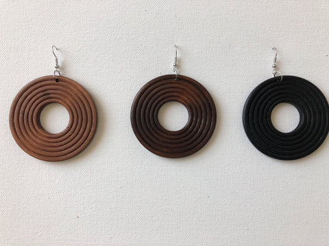 RPM Wooden Earrings
