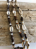 Cowrie Shells and Pearls Necklace