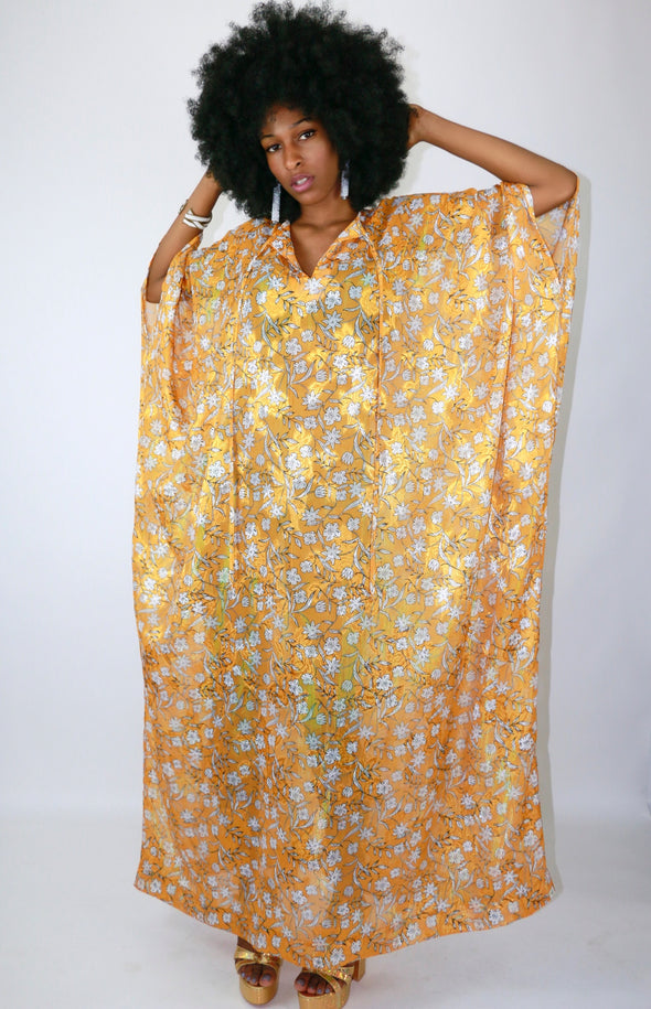 Golden Glam Caftan