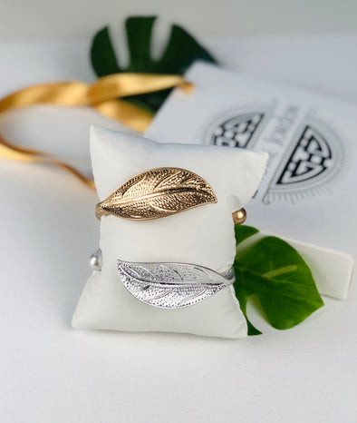 Goddess Leaf Bangle