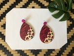 Wild Side Wooden Earrings