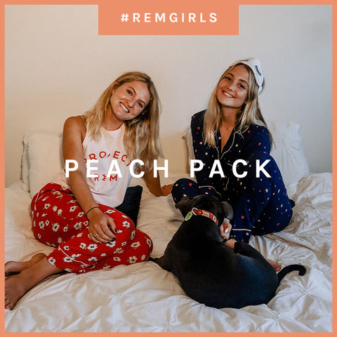 MEET THE PEACH PACK GIRLS: ALYSSA AND SAGE