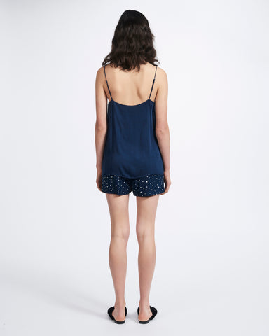 Straight Cami - Navy