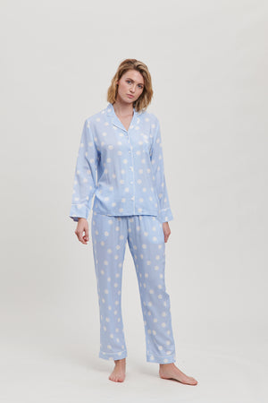 Bluebell Spot Pyjama Set