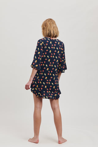 Fruit Frill Dress