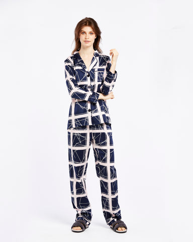Geometric Print PJ Set