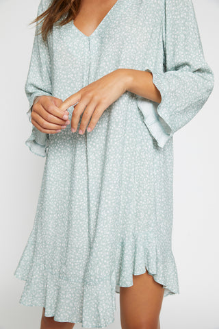 Sage Floral Nightie