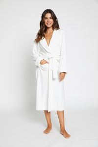 White Terry Towelling Robe