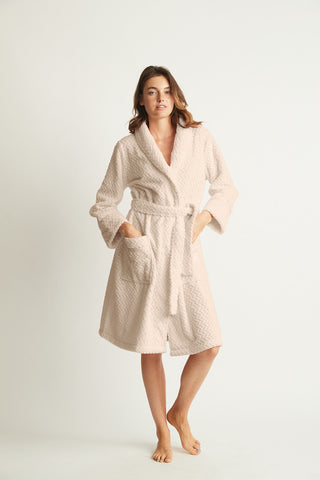 Ludd Fluffy Robe Honey
