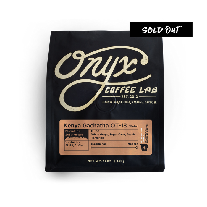Kenya Gachatha OT-18 - SOLD OUT - Coffee Roasters