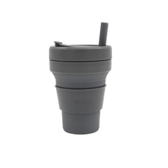 Stojo Collapsible Cup - 16 oz. - Coffee Roasters