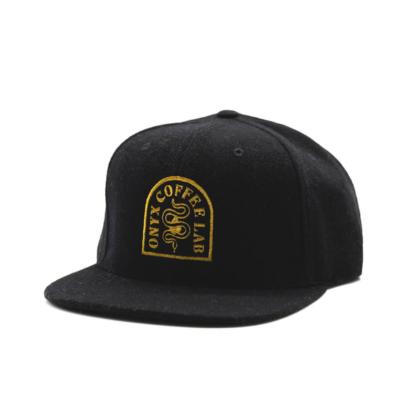 Archetype Wool Strapback (Black)