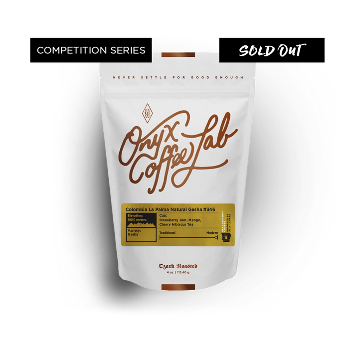 Colombia La Palma Natural Gesha #346 - SOLD OUT - Coffee Roasters