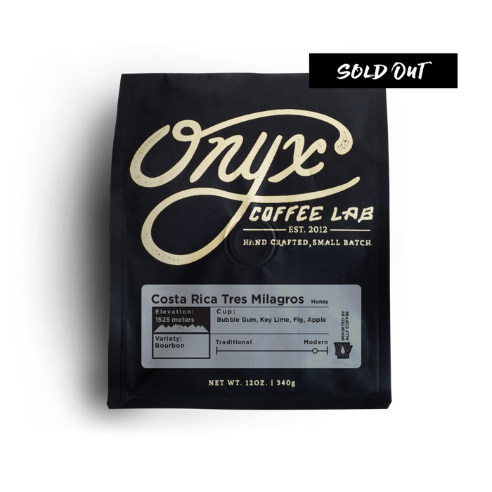 Costa Rica Tres Milagros - SOLD OUT - Coffee Roasters