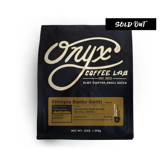 Ethiopia Banko Gotiti - SOLD OUT - Coffee Roasters