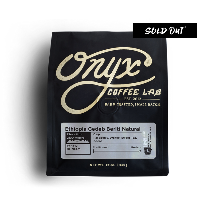 Ethiopia Gedeb Beriti Natural - SOLD OUT - Coffee Roasters