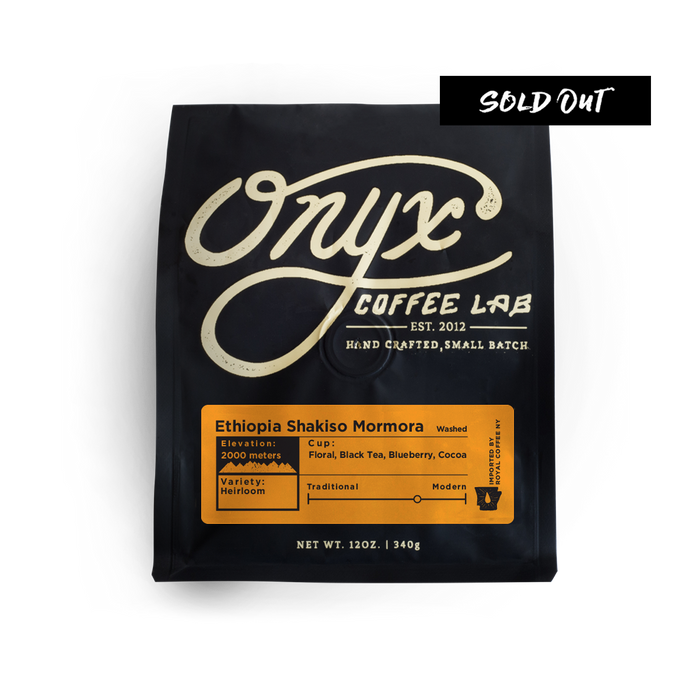 Ethiopia Shakiso Mormora - SOLD OUT - Coffee Roasters