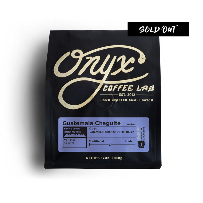 Guatemala Chaguite - SOLD OUT - Coffee Roasters