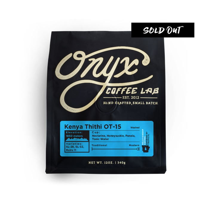 Kenya Thithi OT-15 - SOLD OUT - Coffee Roasters
