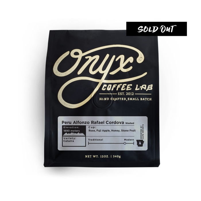 Peru Alfonzo Rafael Cordova - SOLD OUT - Coffee Roasters