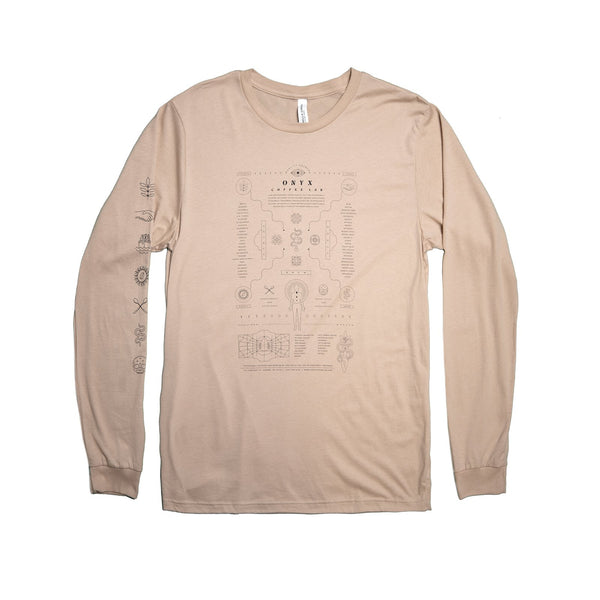 Conspectus LS Tee (Apricot)