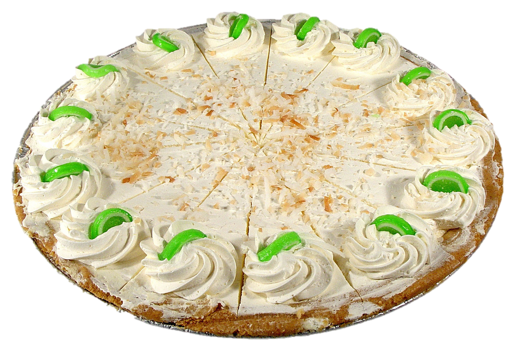 "12"" Key Lime Pie"