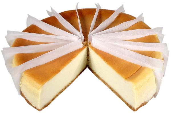 "10"" Golden Brown Cheesecake"