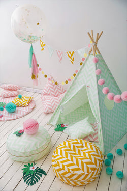 SET: TEEPEE TROPICAL MINT