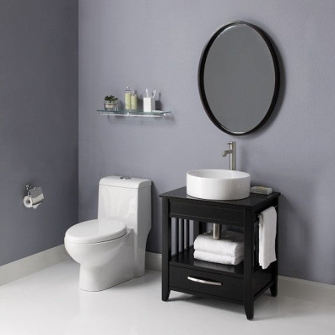 24 inch vessel sink bathroom vanity