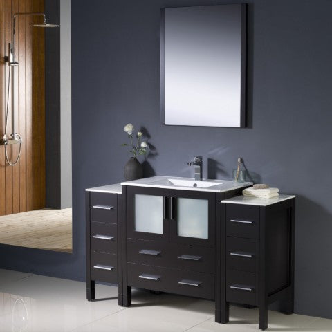 42 inch bathroom vanity freestanding
