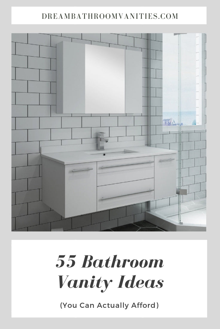 Dream bathroom vanities