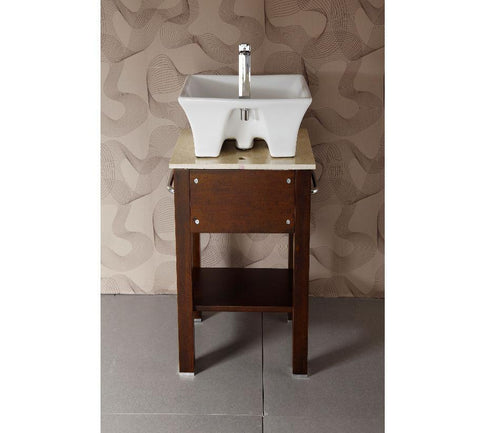 "20.5"" SINK CHEST  - SOLID WOOD - NO FAUCET WA3115"
