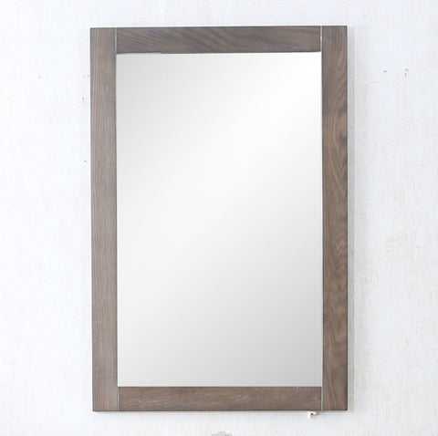 "20"" WEATHERED GRAY MIRROR WLF7021-24-M"